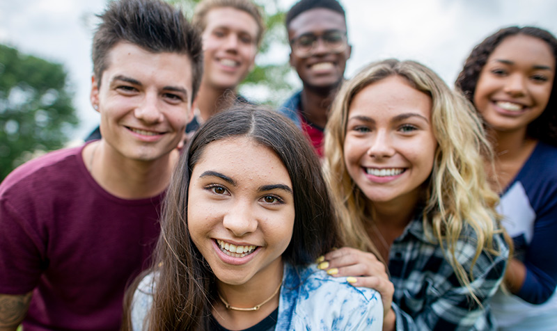 Connect with peers for Teens